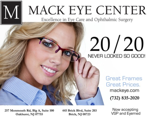 (732) 835-2020 Call now for all of your eye care needs. Eye Doctor in Oakhurst and Brick New Jersey (NJ)